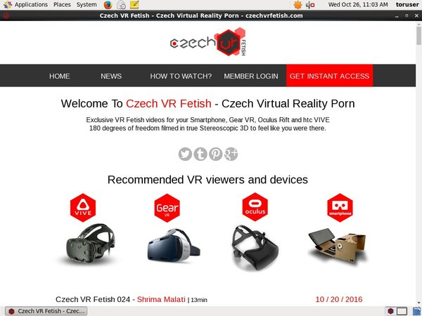 Czech VR Fetish Pago