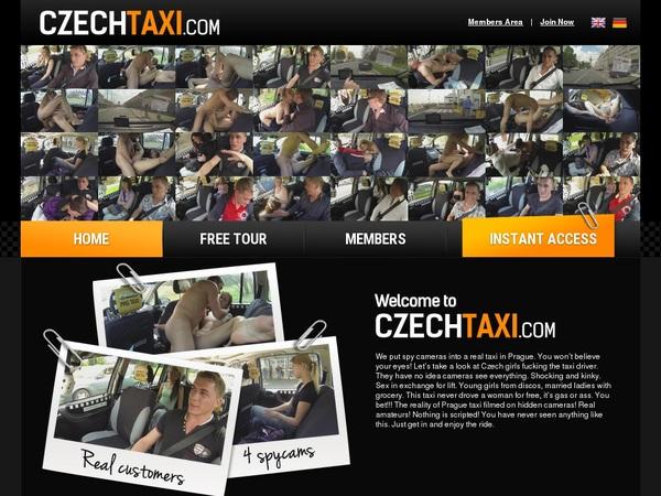 Czechtaxi.com Alternative Payment