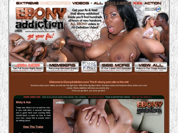Ebony Addiction Clips
