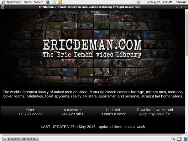 Ericdeman Credits