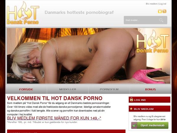 Free Hot Dansk Porno User