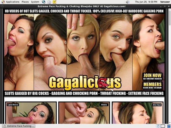 Gagalicious.com Account Free