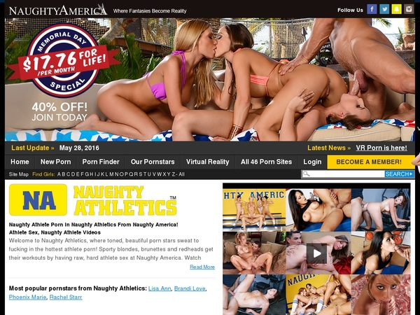 Naughty Athletics Discount Deal
