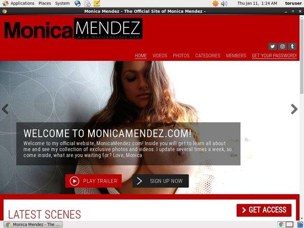 New Monica Mendez