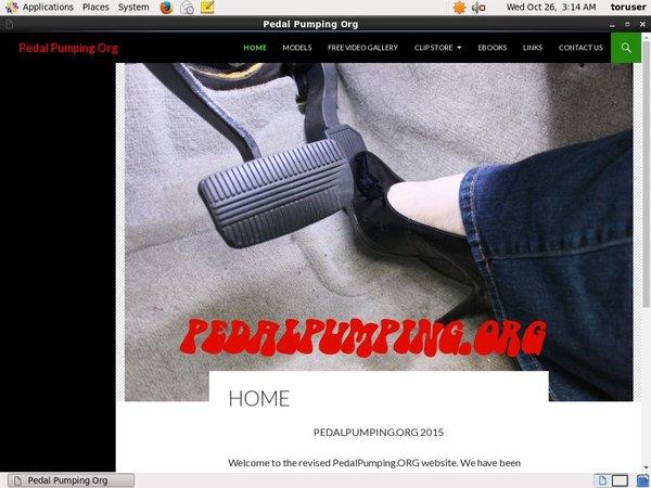 Pedal Pumping Org Premium Password