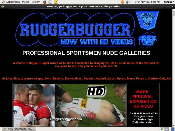 Rugger Bugger Premium Free Account