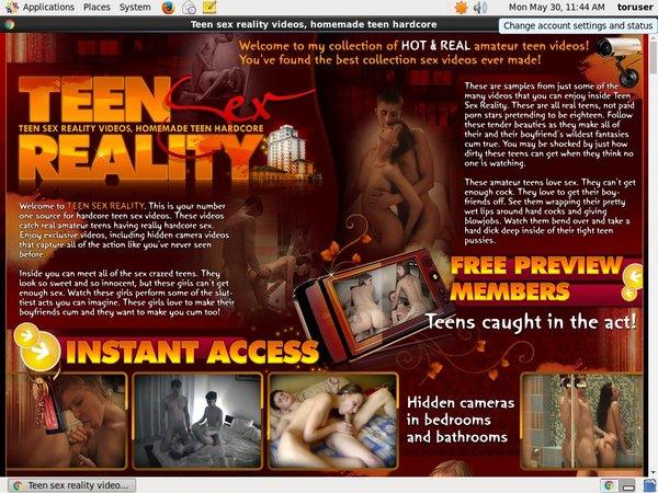 Teen Sex Reality Free Account Password