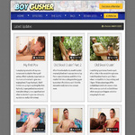 Boy Gusher Pay With