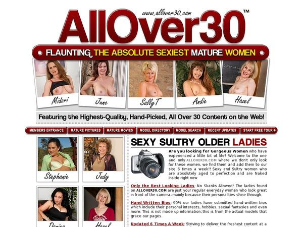 All Over 30 Original Free Member