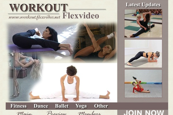 Workout.flexvideo.net With Canadian Dollars