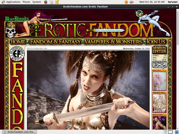 Erotic Fandom Free Password