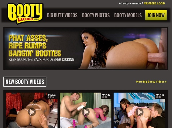 Bootylicious Mag Sign Up Link