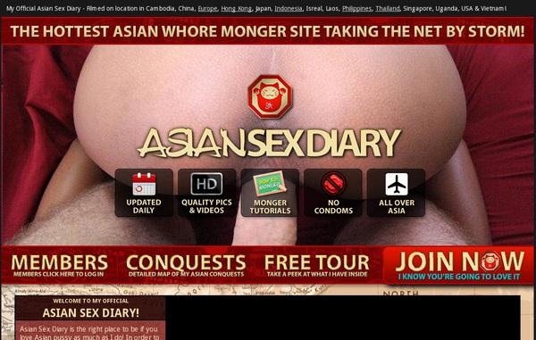 Free Login Asiansexdiary
