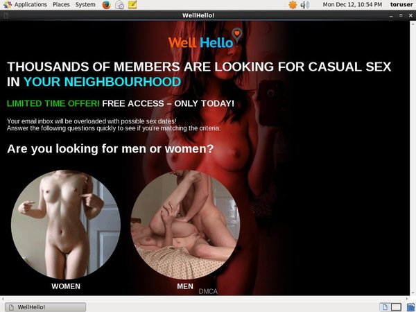 Wellhello.com Logins Free