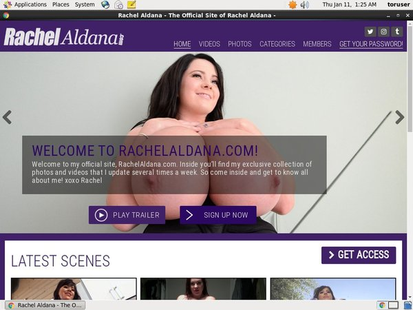How To Get Free Rachelaldana Accounts